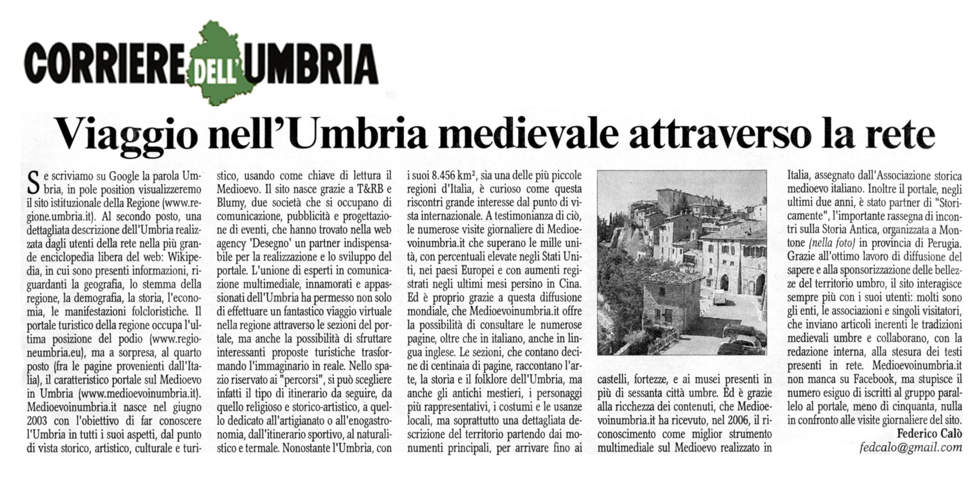 Medioevo in Umbria – Portale delle tradizioni medievali in ...