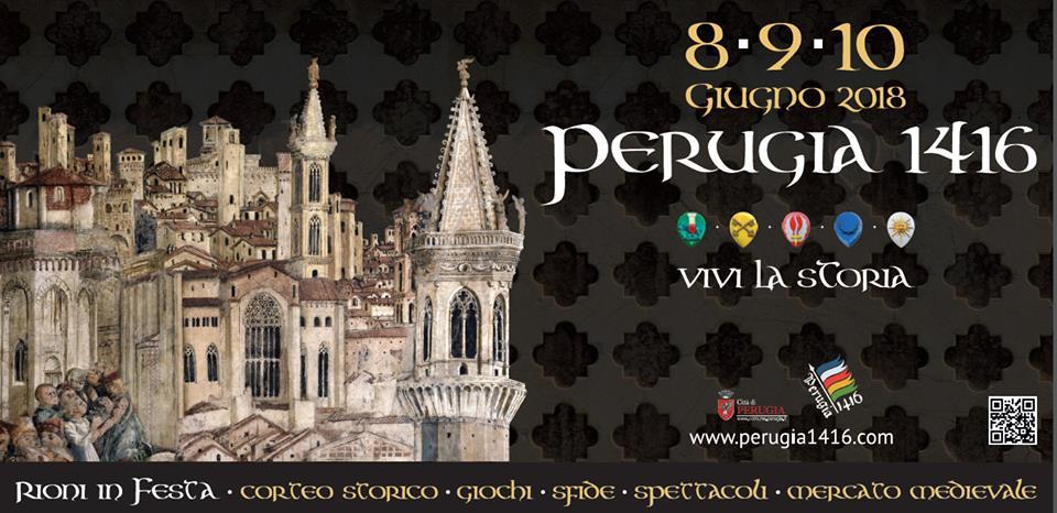"""Manifesto della manifestazione """"Perugia 1416"""""""