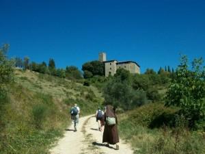 Vicino al Castello di Biscina (Gubbio)