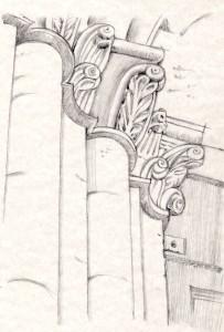 particolari portale san bevignate - perugia